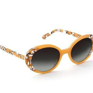 Krewe Laurel Oval Gradient Sunglasses